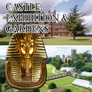 Castle, Exhibition and Gardens